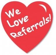 We Love Referalls!